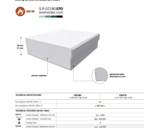 CBI EUROPE Напівкапсульована плита дсп та кальцій-сульфат - Фото 1