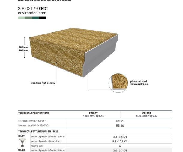 CBI EUROPE Напівкапсульована плита дсп та кальцій-сульфат - Фото 3